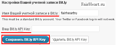 Bit.ly WP to Twitter