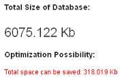 Статистика базы данных