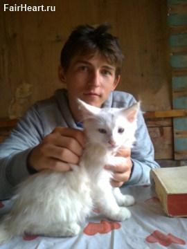 Кот и я