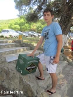 12 бутылок шампанского Абрау-Дюрсо и я