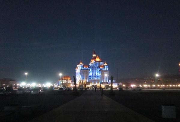 Сочи Парк ночью