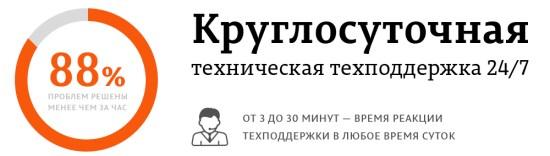 Техническая поддержка 24/7